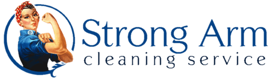 Strong Arm Cleaning Service Logo